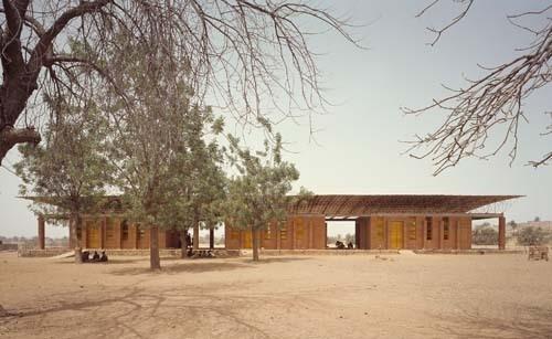Primary School. Gando, Burkina Faso. 1999-2001 image