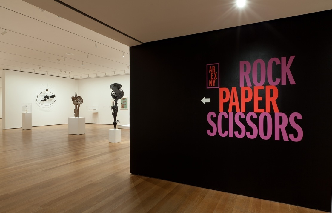 Installation view of Abstract Expressionist New York: Rock Paper Scissors. image