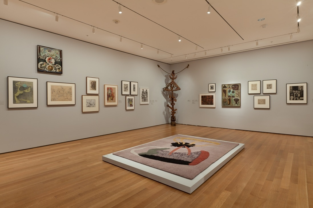 Installation view of Abstract Expressionist New York: Ideas Not Theories: Artists and The Club, 1942-1962. image
