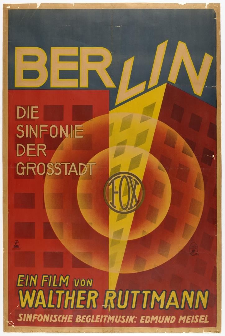 Poster for Berlin, Die Sinfonie der Grosstadt. 1927 image