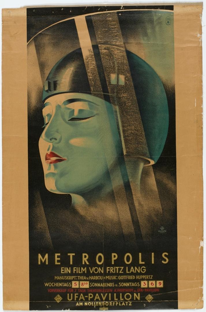 Poster for Metropolis. c. 1926. image