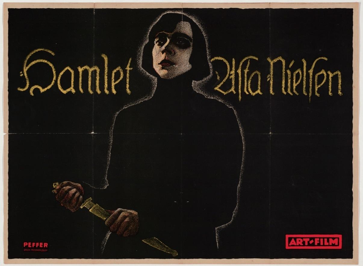 Poster for Hamlet. 1920 image