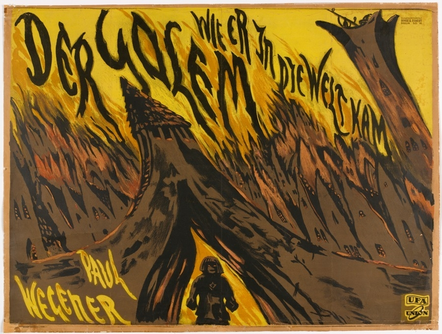 Poster for The Golem: As He Came Into the World. 1920. image