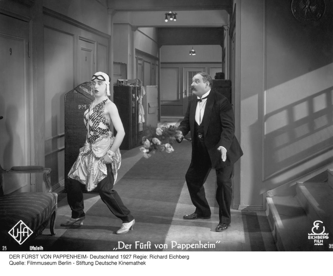 Der Fürst von Pappenheim (The Masked Mannequin). 1927. Germany. image