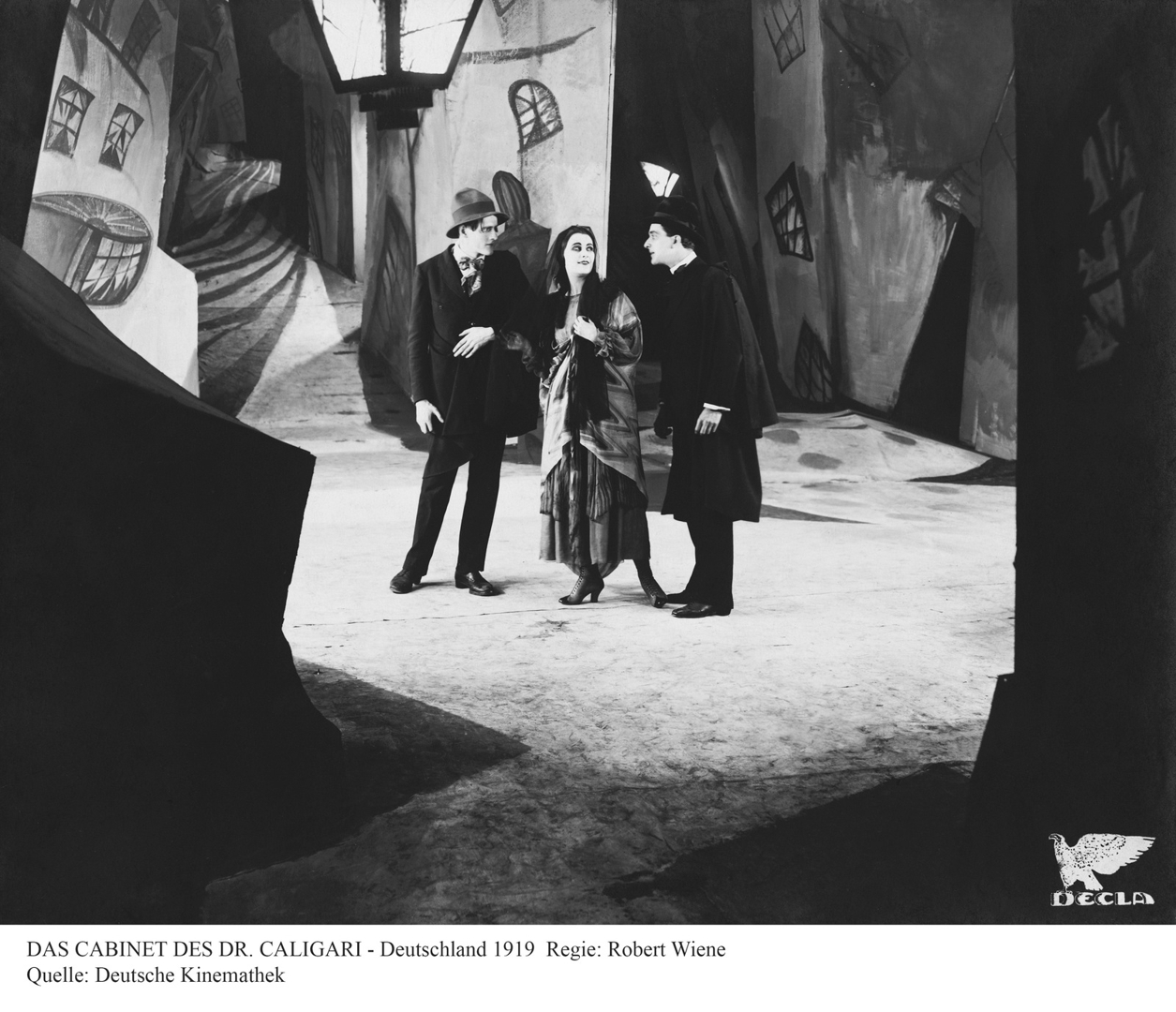 Das Cabinet des Dr. Caligari (The Cabinet of Dr. Caligari). 1920. Germany. image