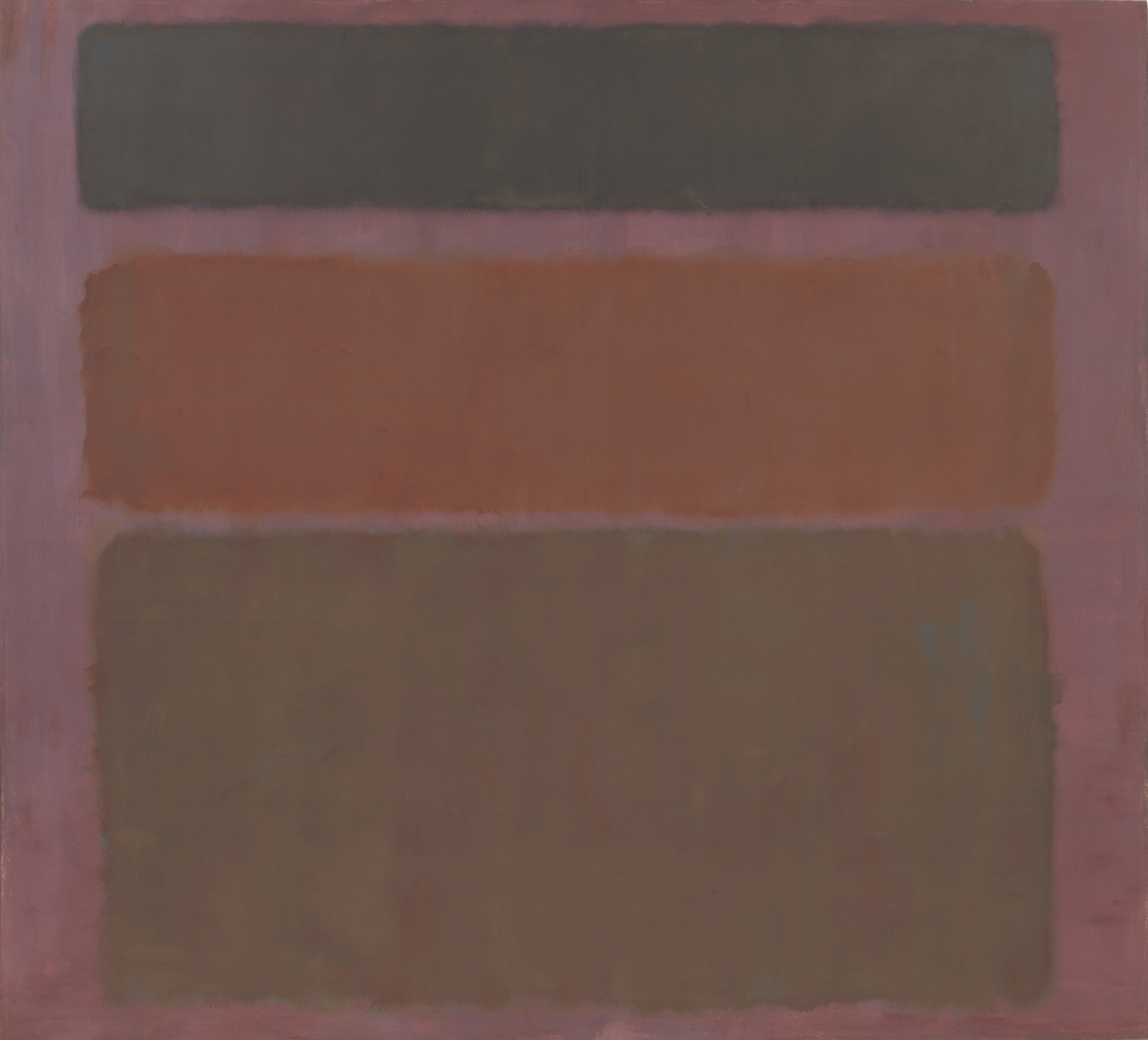 No. 16 (Red, Brown, and Black). 1958 image