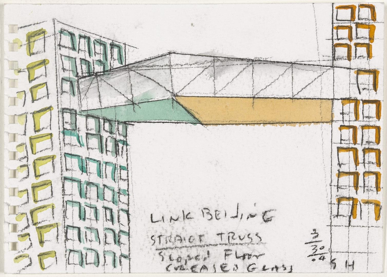 Perspective sketch. 2004 image