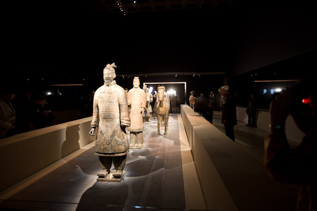 The first emperor: China's entombed warriors  image