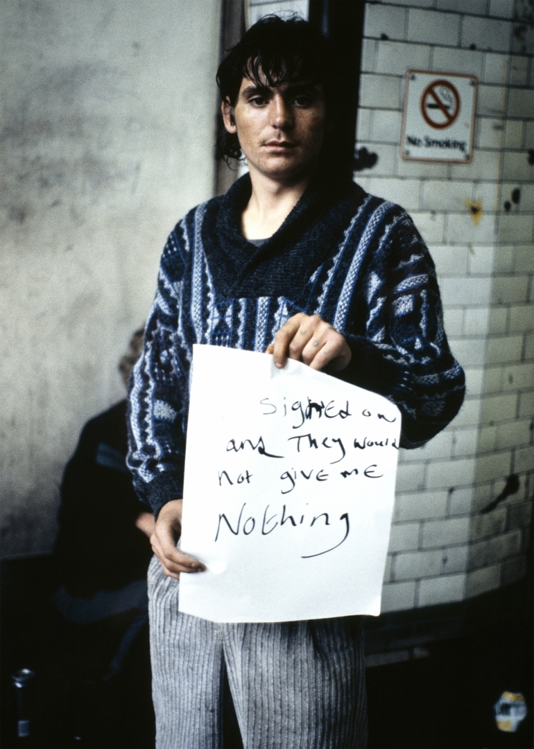 Gillian Wearing, I Signed On and They Would Not Give Me Nothing image