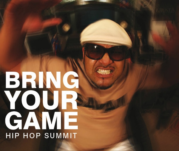 BRING YOUR GAME HIP HOP SUMMIT image