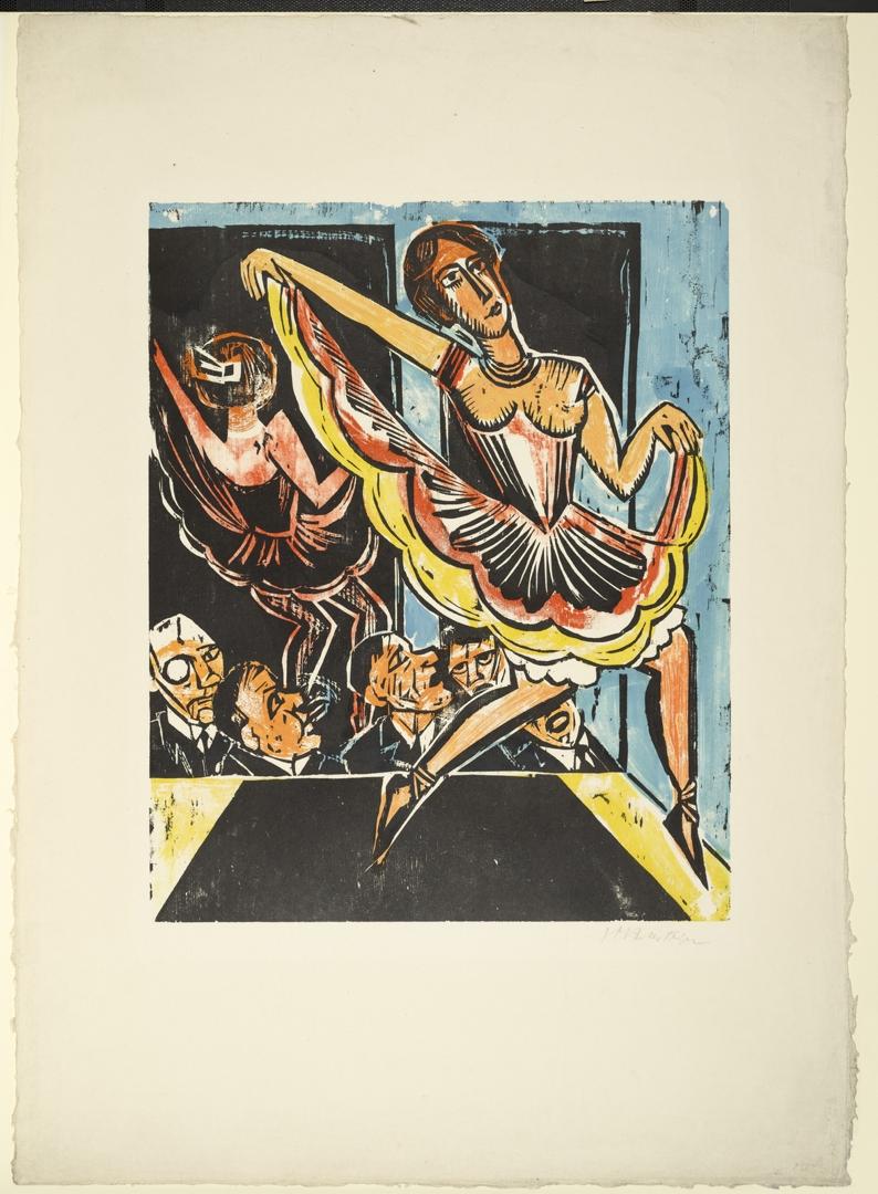 Dancer in the Mirror (Tänzerin im Spiegel). 1923 image