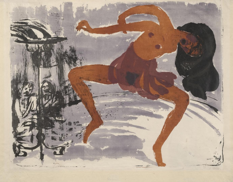 Dancer (Tänzerin). 1913 image