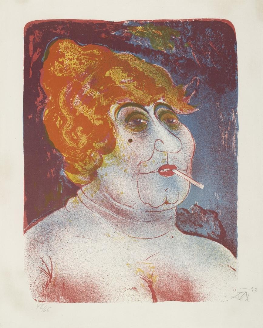 Procuress (Kupplerin). 1923 image