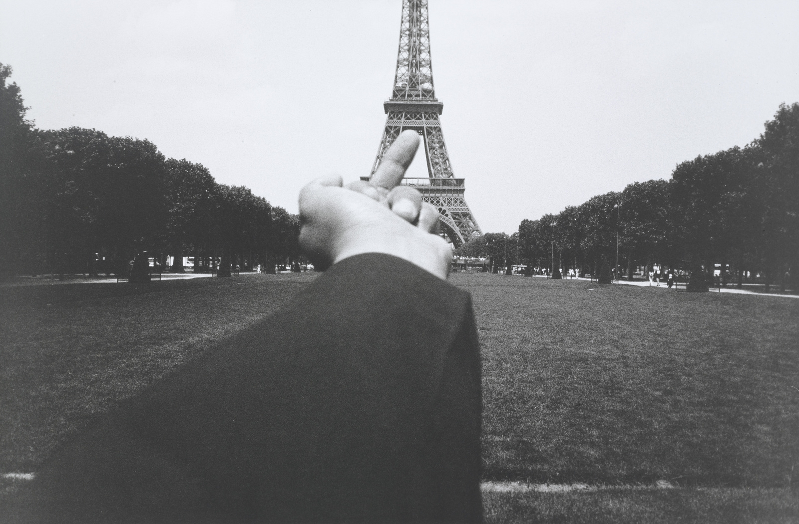 Study of Perspective – Eiffel Tower. 1995-2003.  image