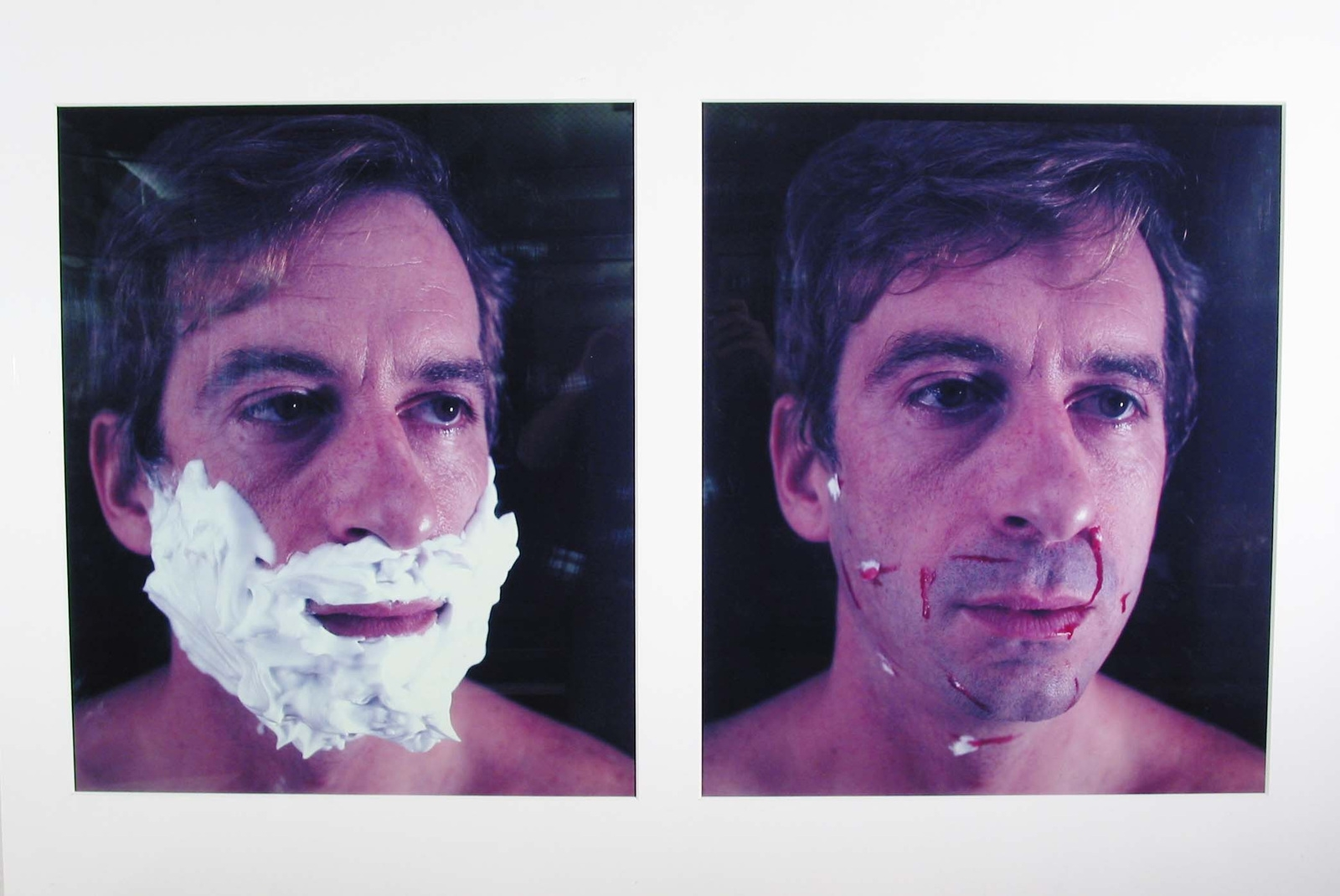Foamy Aftershave (L-Foamy; R-Aftershave). 1982. image