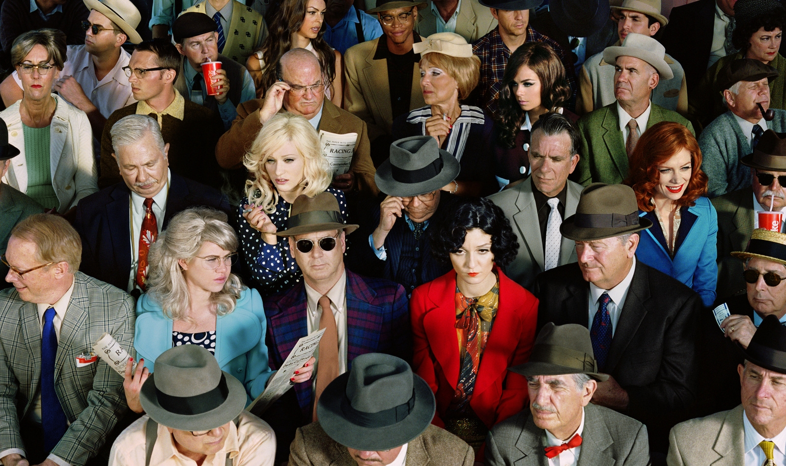 Crowd #1 (Stan Douglas). 2010 image
