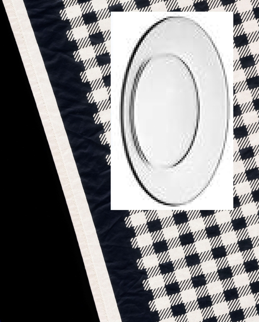 Comme des Garçons Scarf with Glass Plate. 2010 image