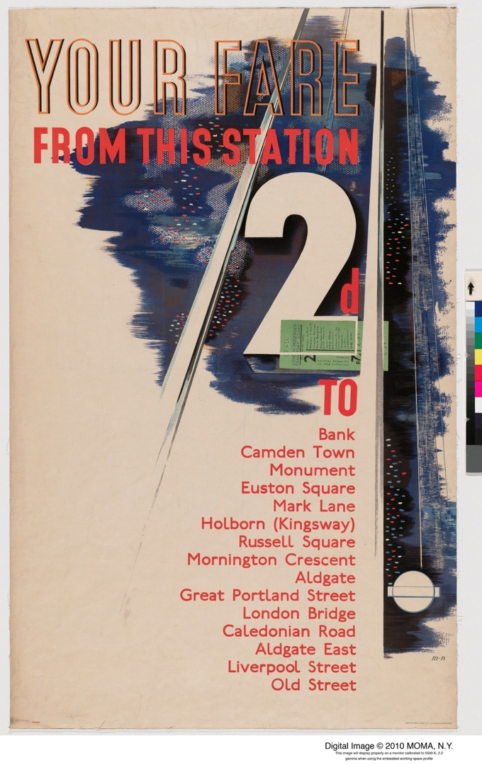 Your Fare From This Station. 1936. image