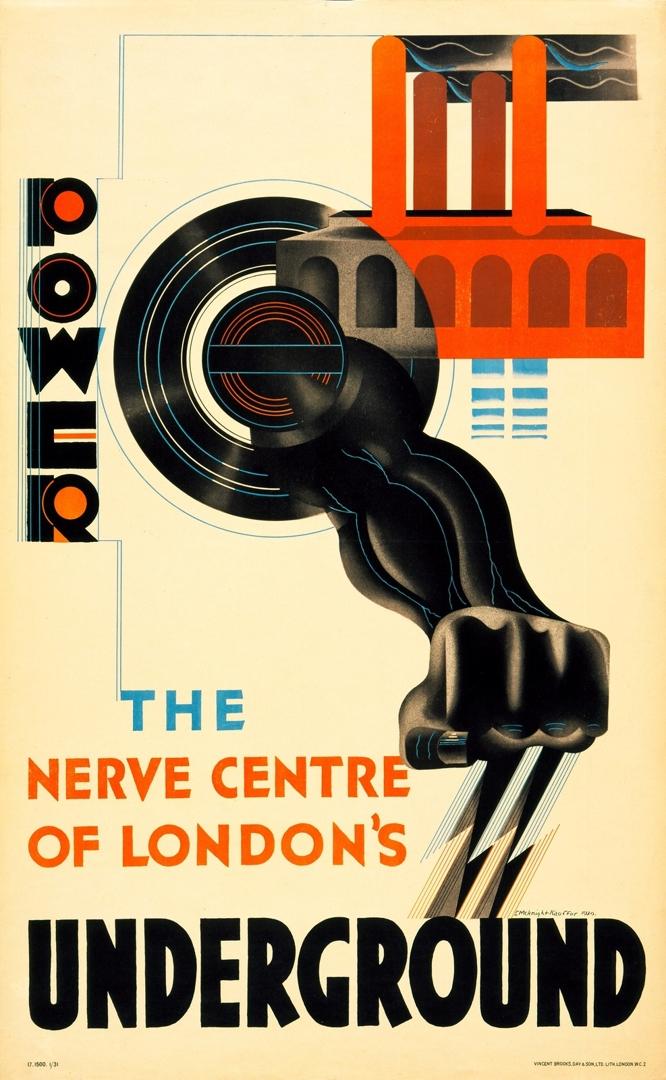 Power, The Nerve Centre of London's Underground. 1930 image