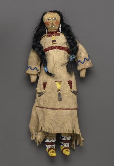 Doll, early 20th century image
