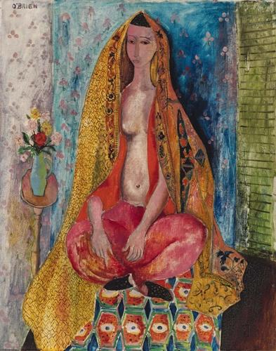 The dancer c1946 image