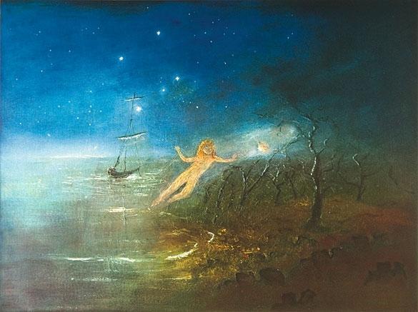 Flinders Ghost image