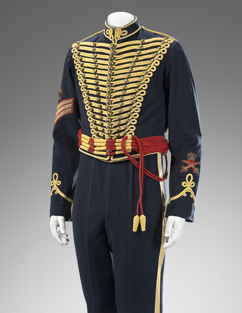 Royal Gloucester Hussar's uniform c. 1900 image