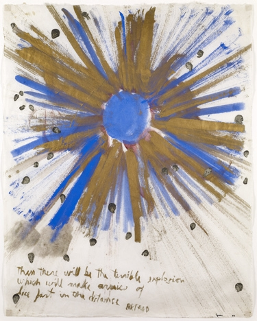 Artaud Painting: Then There Will Be… 1969 image