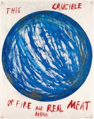 Artaud Painting: This Crucible of Fire..., 1969 image