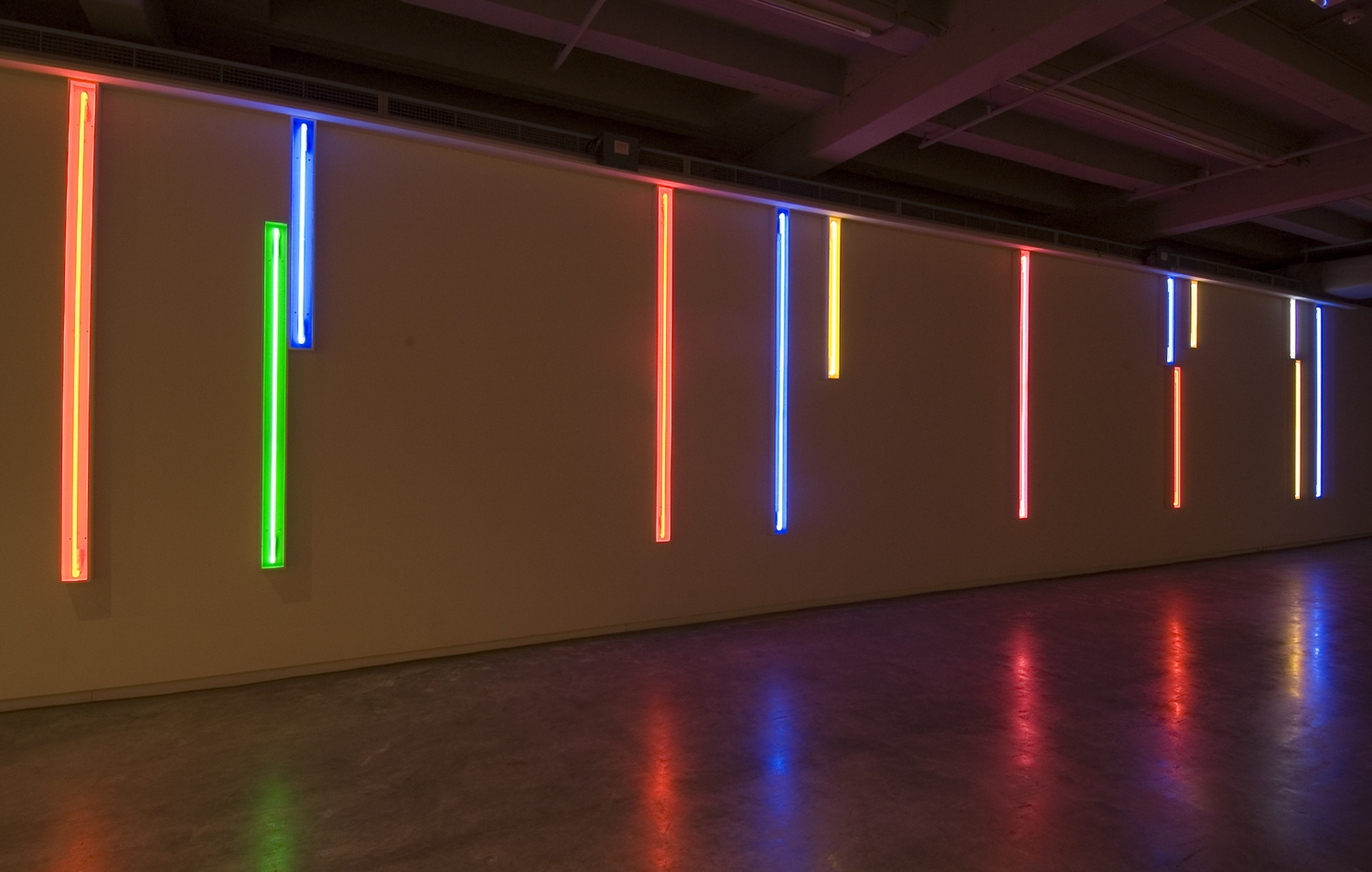 Neon Light Installations 1970–2002 image