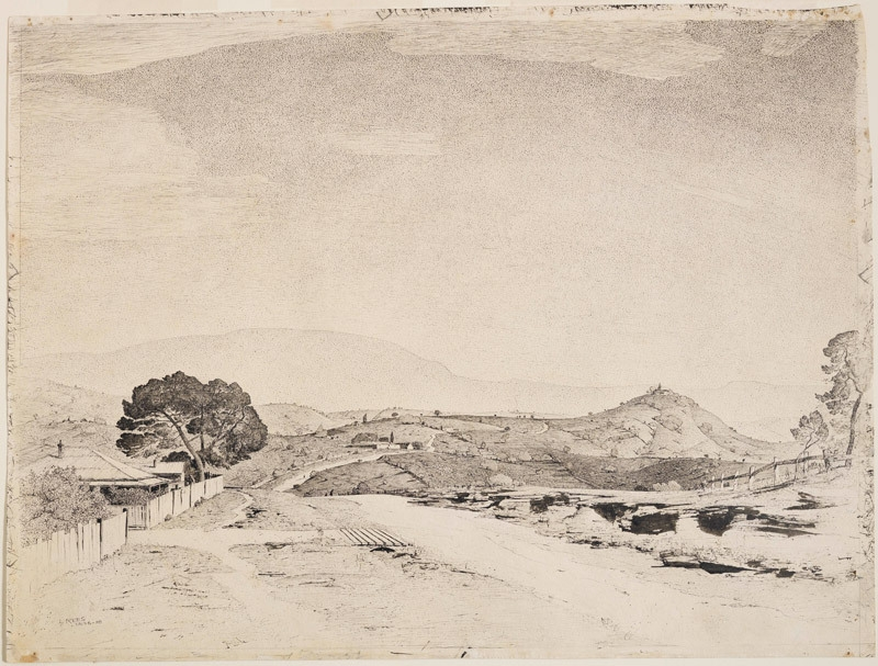 Hill of the south coast, NSW 1936-38 image