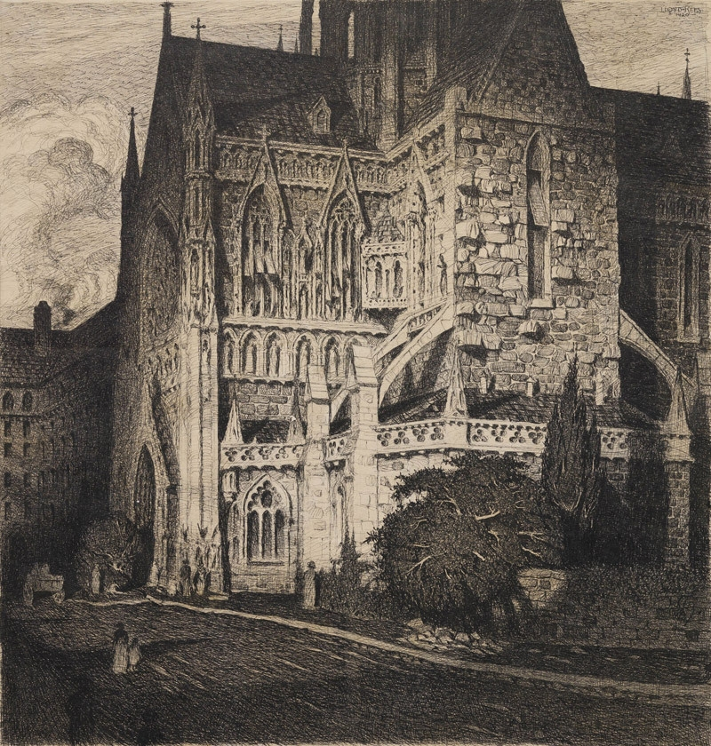 St Mary's Cathedral, Sydney 1920 image