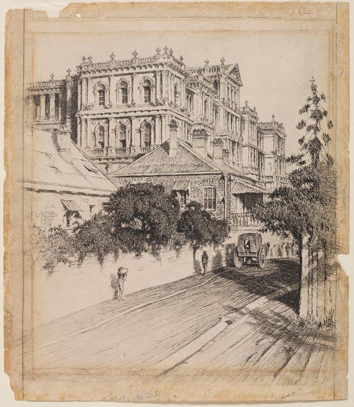 Treasury buildings 1920 image