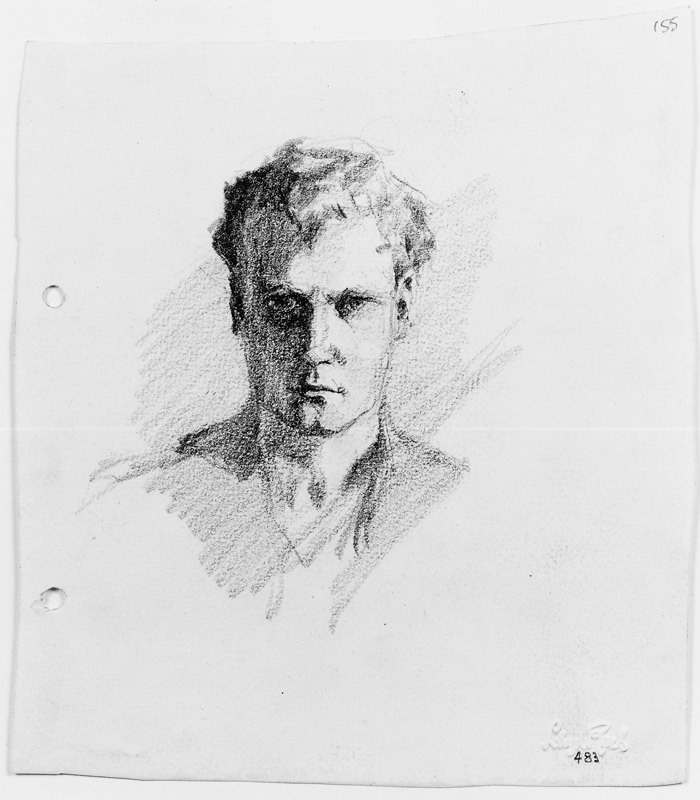 Self portrait c.1912-17 image
