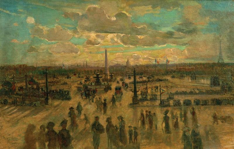 (Place de la Concorde) c.1918-19 image