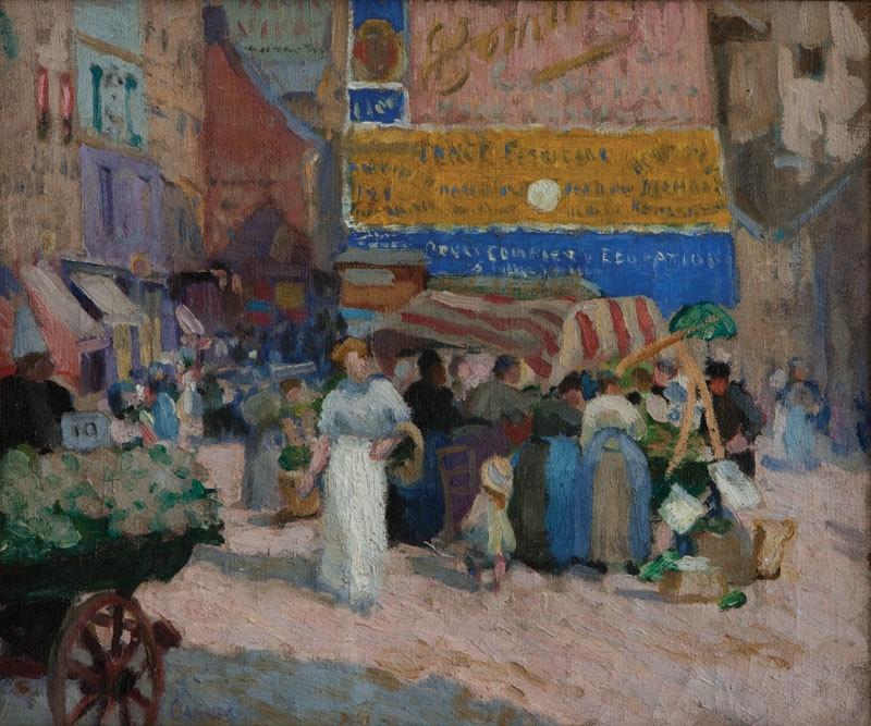 Rue Mouffetard, Paris 1910 image