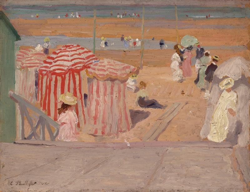 Promenade c.1909 image