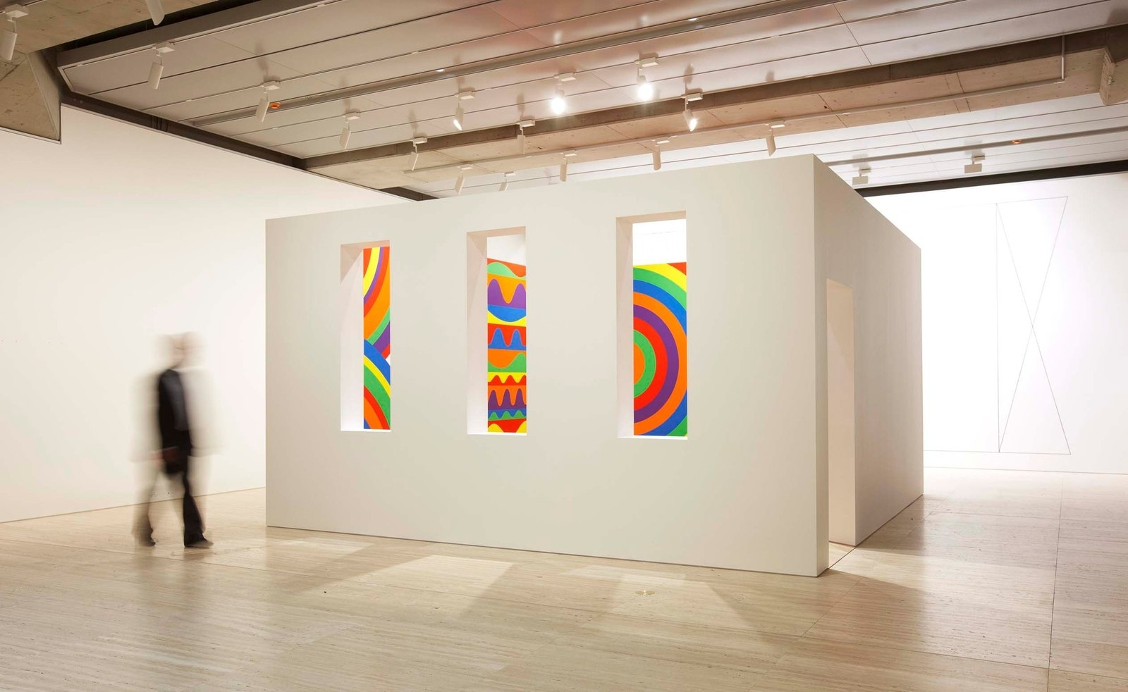 The new John Kaldor Family Gallery with Sol LeWitt's Wall drawing #1091 image