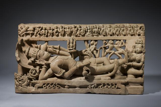 Vishnu in His Cosmic Sleep, circa 12th century image