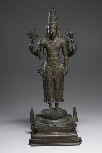 Standing Vishnu, circa 14th century image