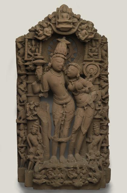 Lakshmi-Narayana, 10th century image