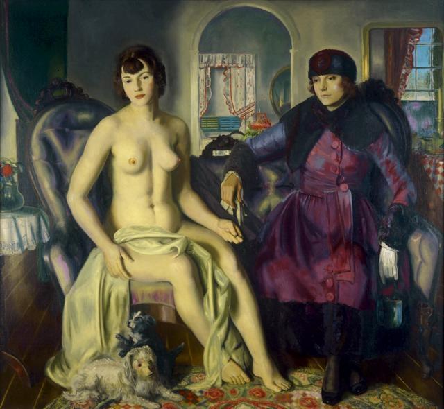 Two Women, 1924 image