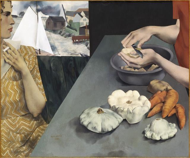 Vegetable Dinner, 1927 image