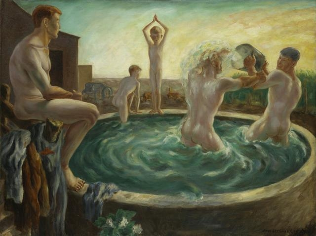The Bathers, circa 1928 image