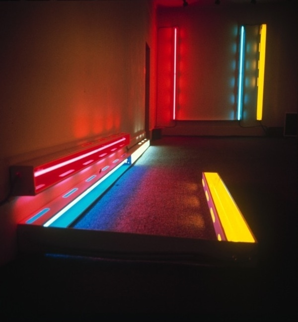Peter Kennedy Neon-Light Installations, Gallery A Sydney, 1970 image