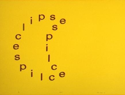 Artist: Alan Riddell. Title: Eclipse I 1969 image