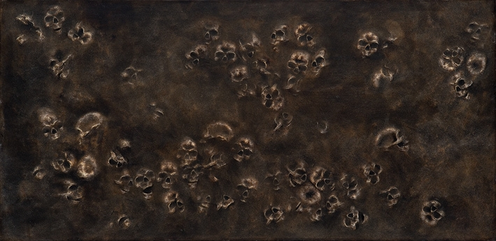 Untitled (Skull Panel)  2003 image