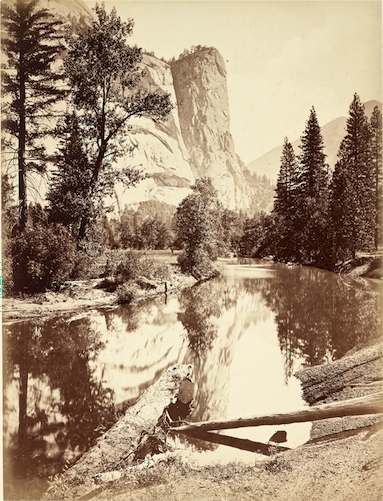Mirror Lake, Washington Column (1866) image