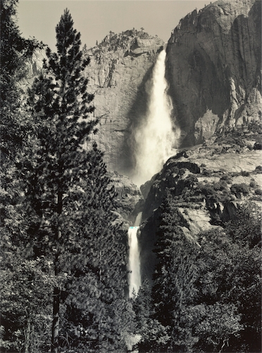 No title (Waterfall, Yosemite Valley) (1940s) image