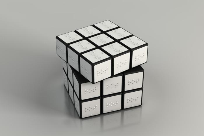 Rubik's Cube for the Blind (model, 2010) image